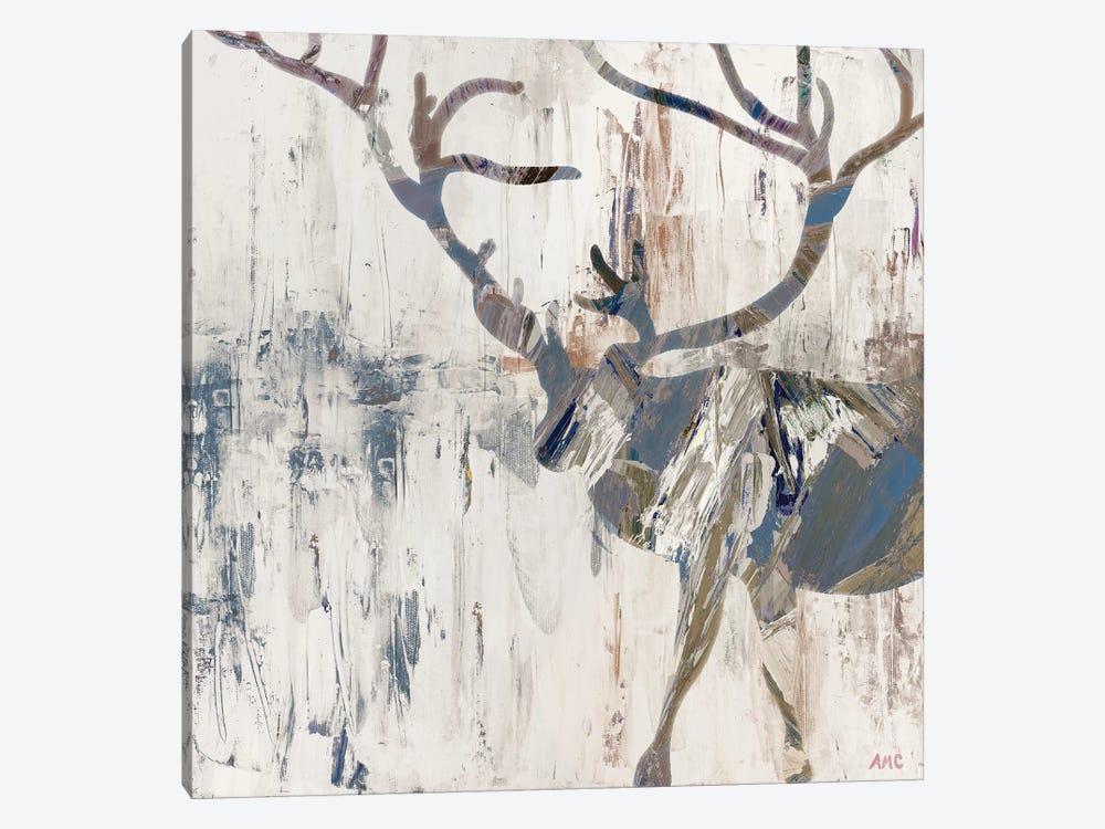Neutral Rhizome Deer by Ann Marie Coolick 1-piece Canvas Artwork