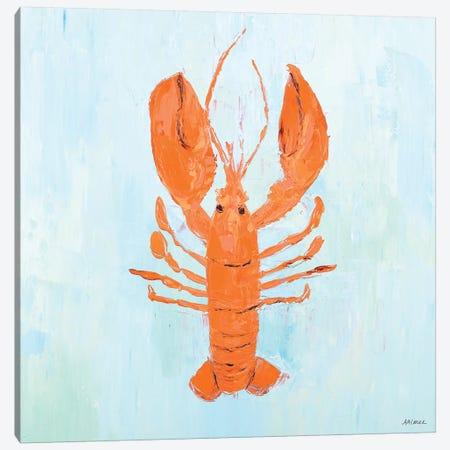 Orange Claw Buddies I Canvas Print #CLK51} by Ann Marie Coolick Canvas Print