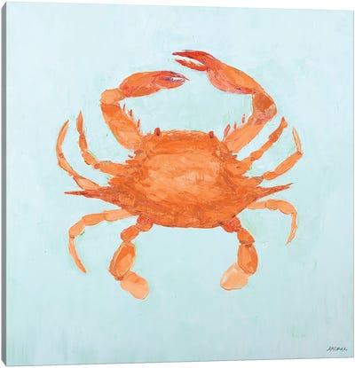 Orange Claw Buddies II Canvas Art Print