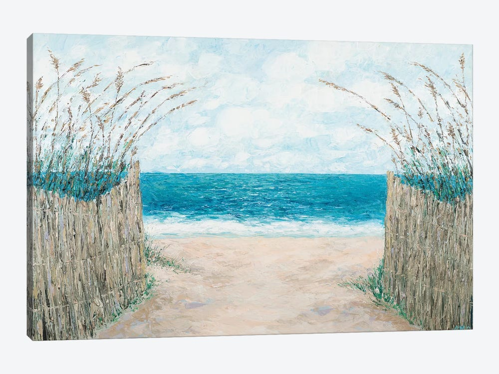 Sand Bridge Walkway by Ann Marie Coolick 1-piece Canvas Wall Art