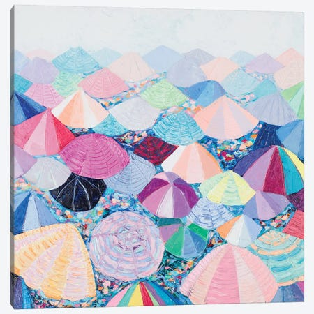 Umbrella Nation Canvas Print #CLK57} by Ann Marie Coolick Canvas Wall Art