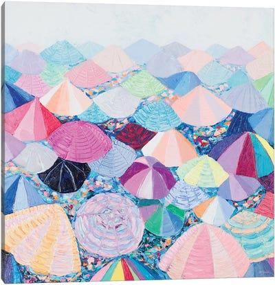 Umbrella Nation Canvas Art Print