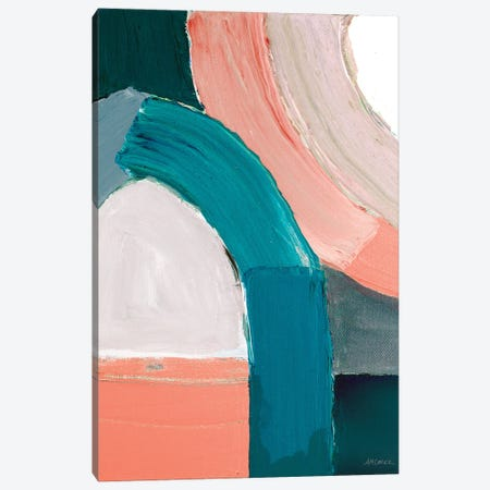 Dark Pastel Roundabout I Canvas Print #CLK58} by Ann Marie Coolick Canvas Art Print