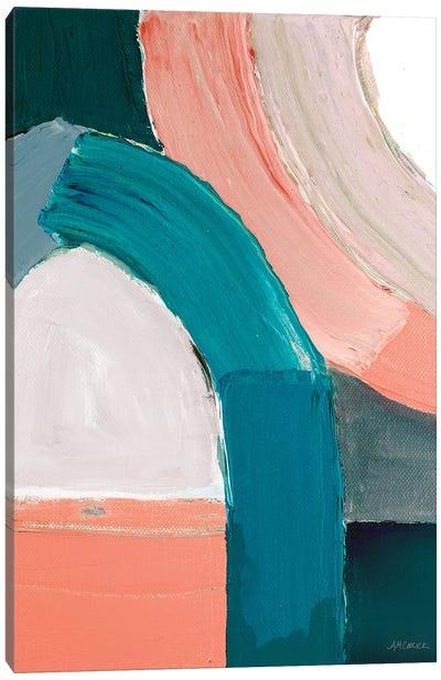 Dark Pastel Roundabout I Canvas Art Print
