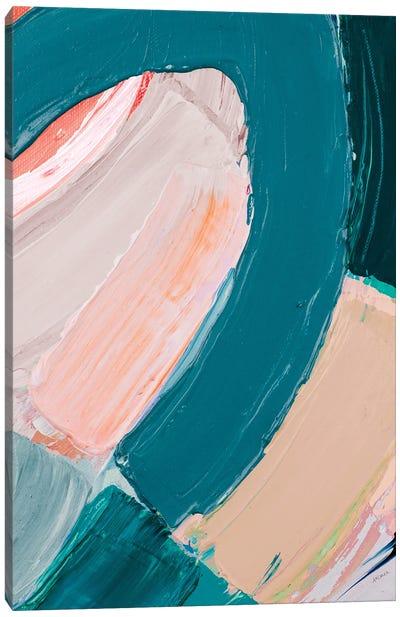 Dark Pastel Roundabout II Canvas Art Print
