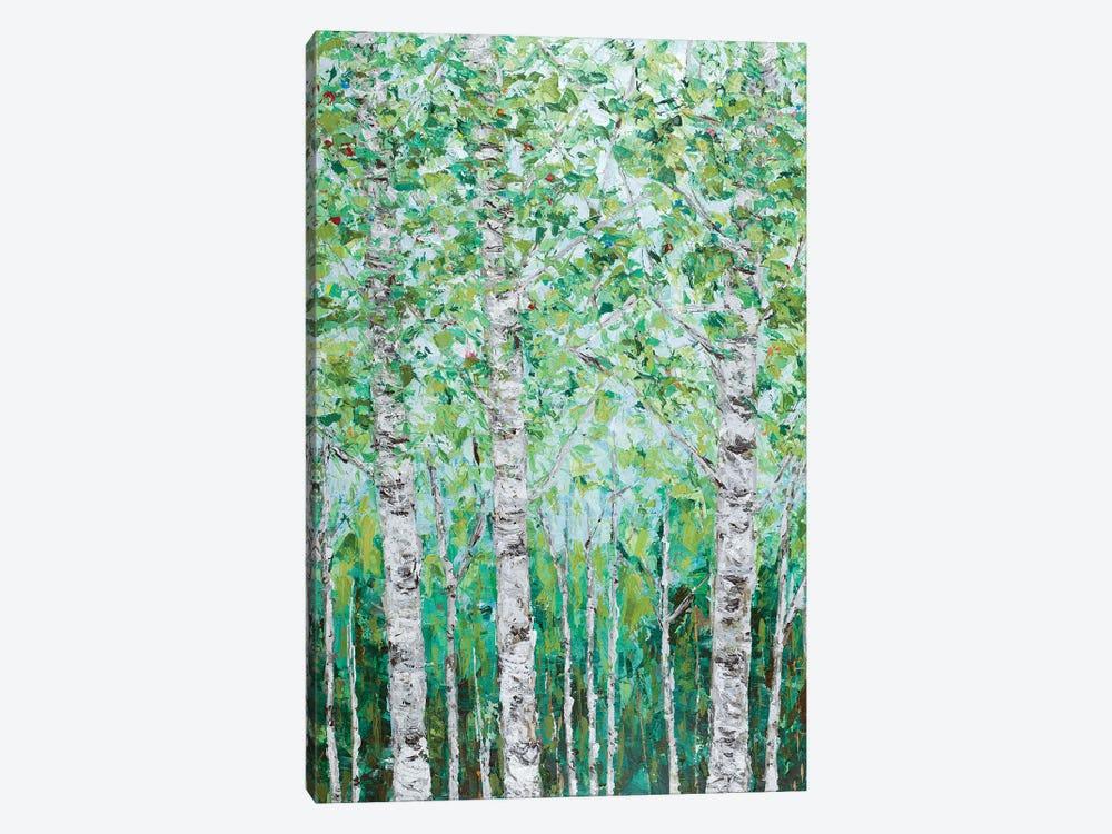Green Birchwood I by Ann Marie Coolick 1-piece Canvas Art Print