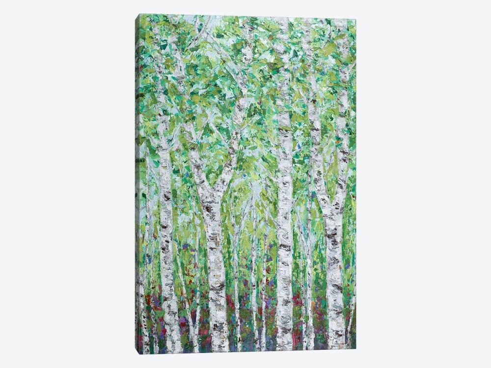 Green Birchwood II by Ann Marie Coolick 1-piece Canvas Art