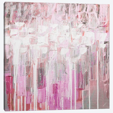 Organic Pink Party Canvas Print #CLK69} by Ann Marie Coolick Canvas Wall Art