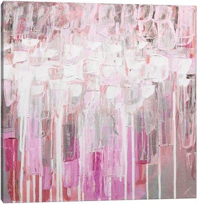 Organic Pink Party Canvas Art Print