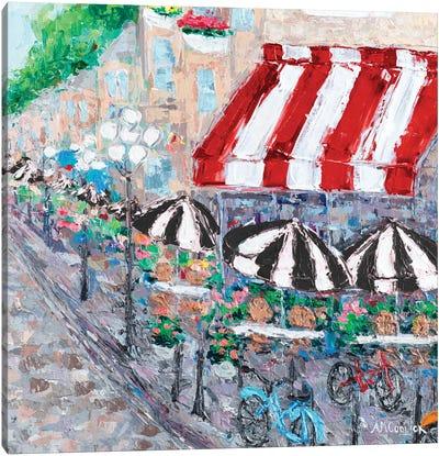 Paris On My Mind II Canvas Art Print