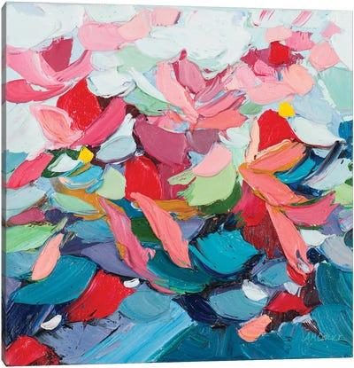 Pastel Internodes Canvas Art Print