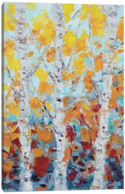 Aspen October II Canvas Art Print