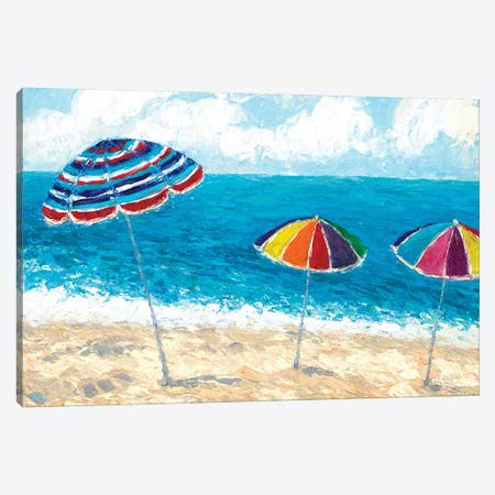 At the Shore I Canvas Print #CLK8} by Ann Marie Coolick Canvas Art