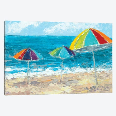 At the Shore II Canvas Print #CLK9} by Ann Marie Coolick Canvas Wall Art