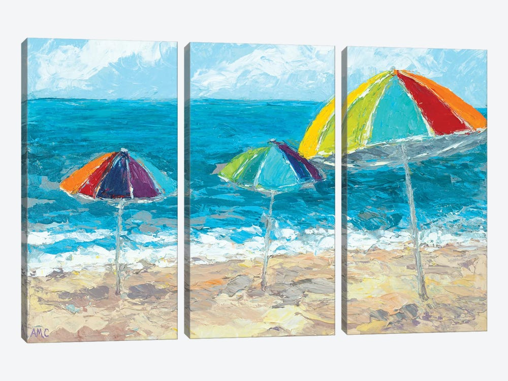At the Shore II by Ann Marie Coolick 3-piece Art Print