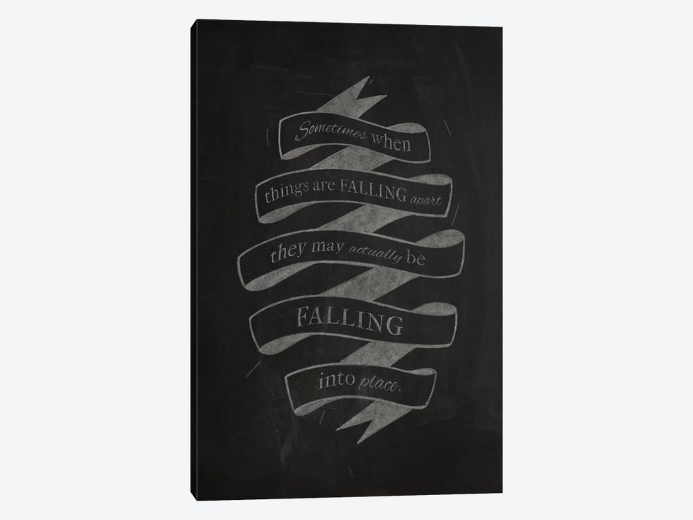 When Things Are Falling Apart by 5by5collective 1-piece Canvas Art Print