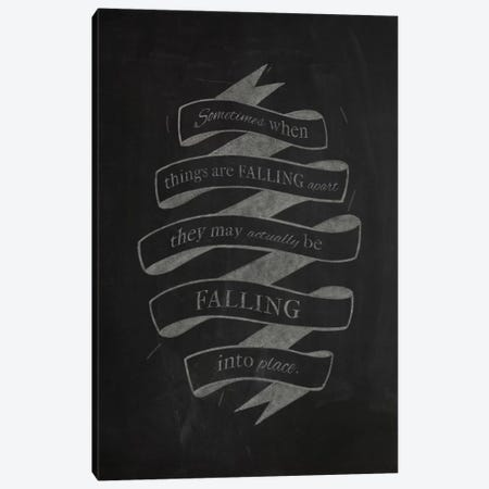 When Things Are Falling Apart Canvas Print #CLL12} by 5by5collective Canvas Art