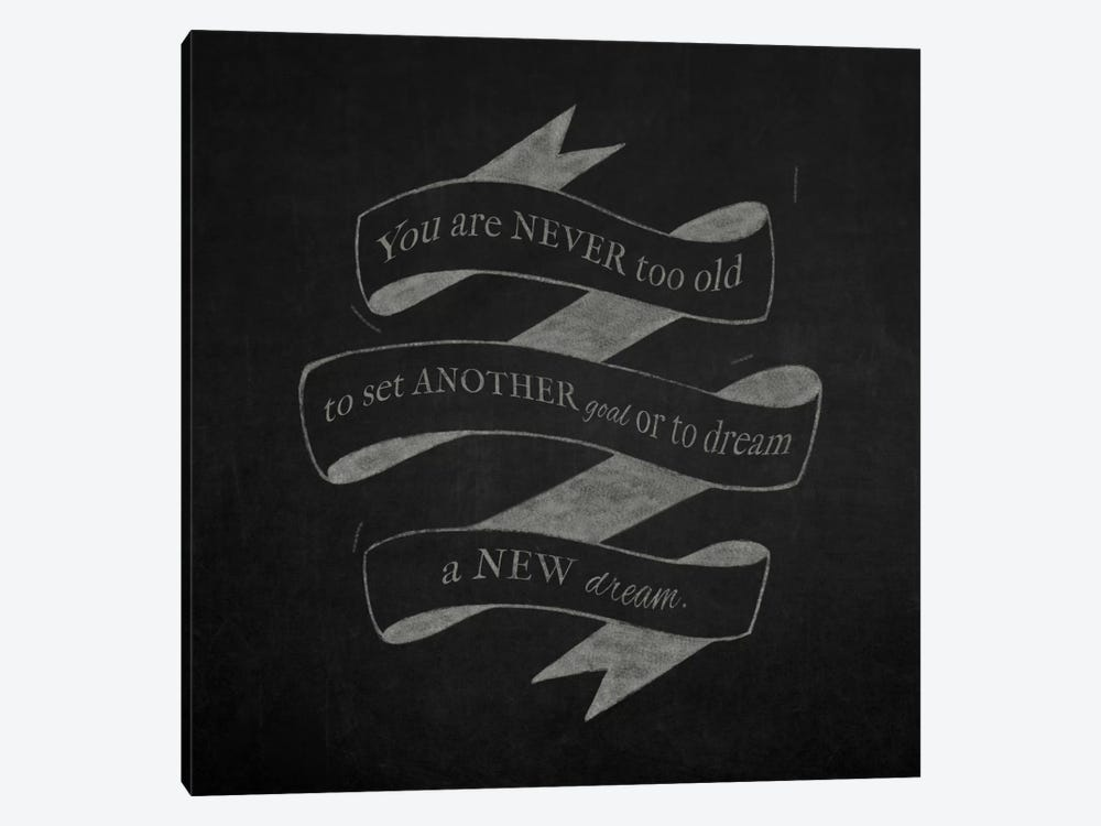Never Too Old by 5by5collective 1-piece Canvas Art