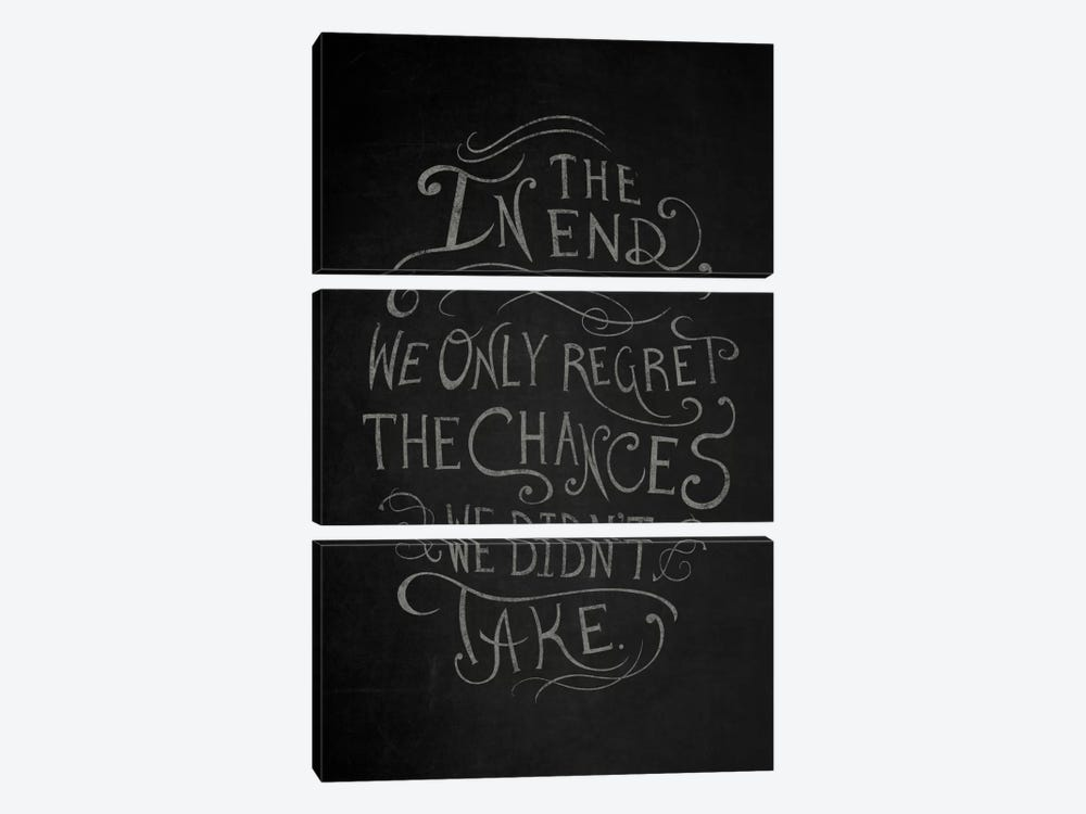Chances We Didn't Take by 5by5collective 3-piece Canvas Wall Art