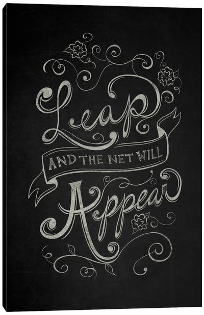 The Net Will Appear Canvas Art Print