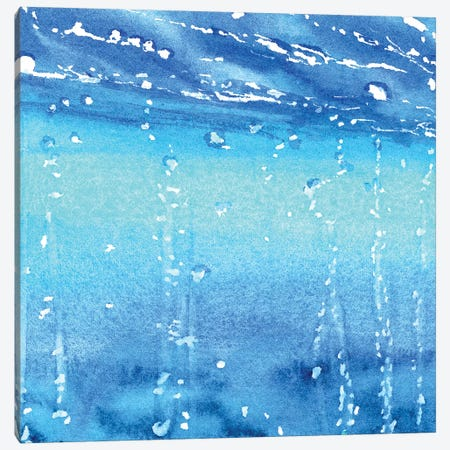 Sea Bubbles I 3-Piece Canvas #CLN33} by Carlin Canvas Wall Art