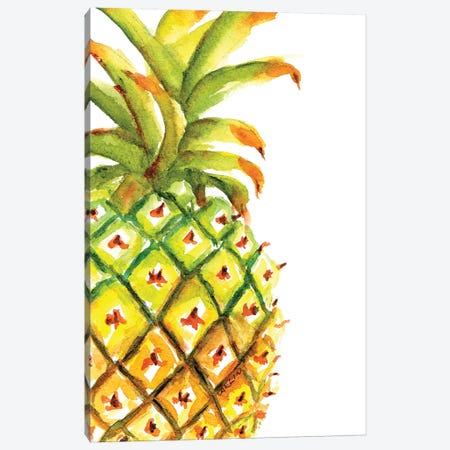 Yummy Pineapple 3-Piece Canvas #CLN43} by Carlin Canvas Print
