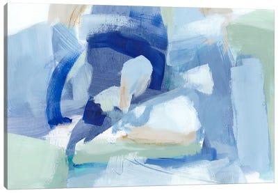Blue Formation I Canvas Art Print