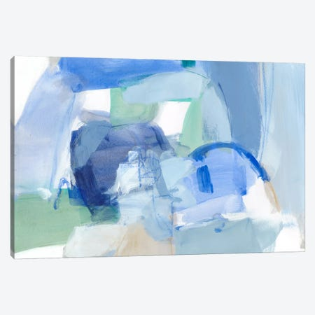 Blue Formation II Canvas Print #CLO11} by Christina Long Canvas Art Print