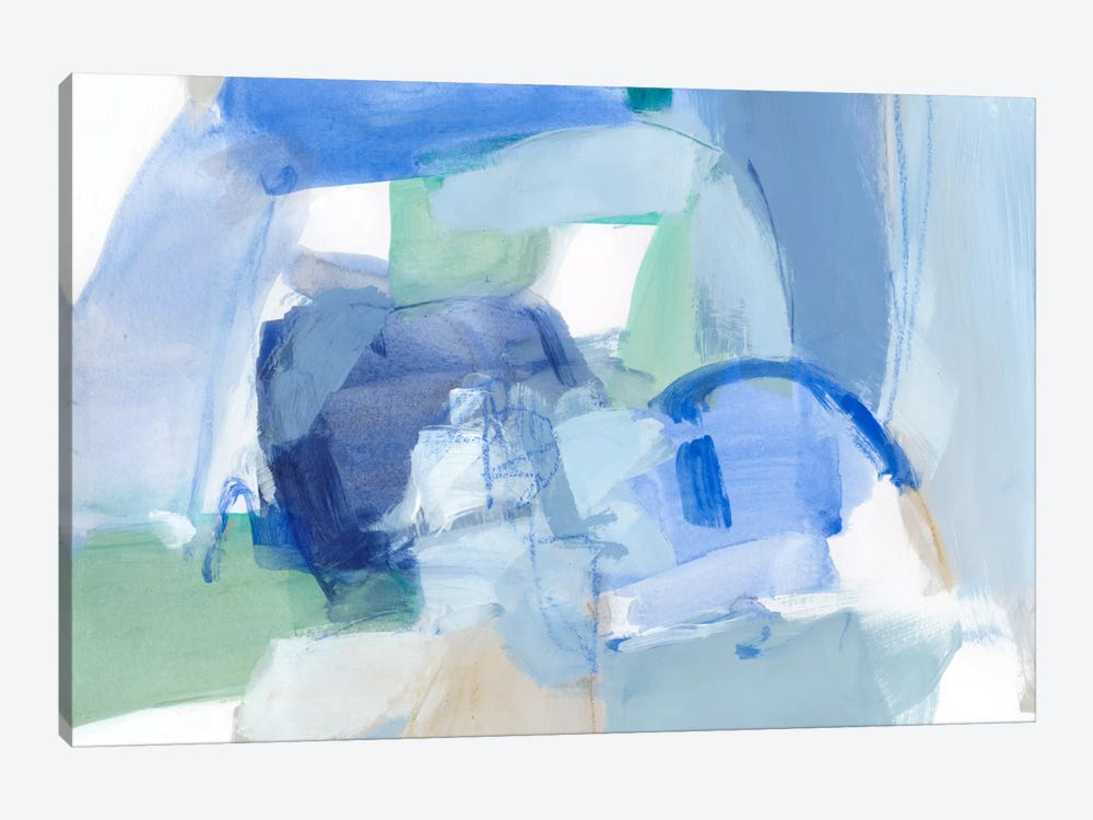 Blue Formation II by Christina Long 1-piece Canvas Wall Art