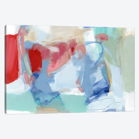 Roundabout I Canvas Print #CLO14} by Christina Long Canvas Art