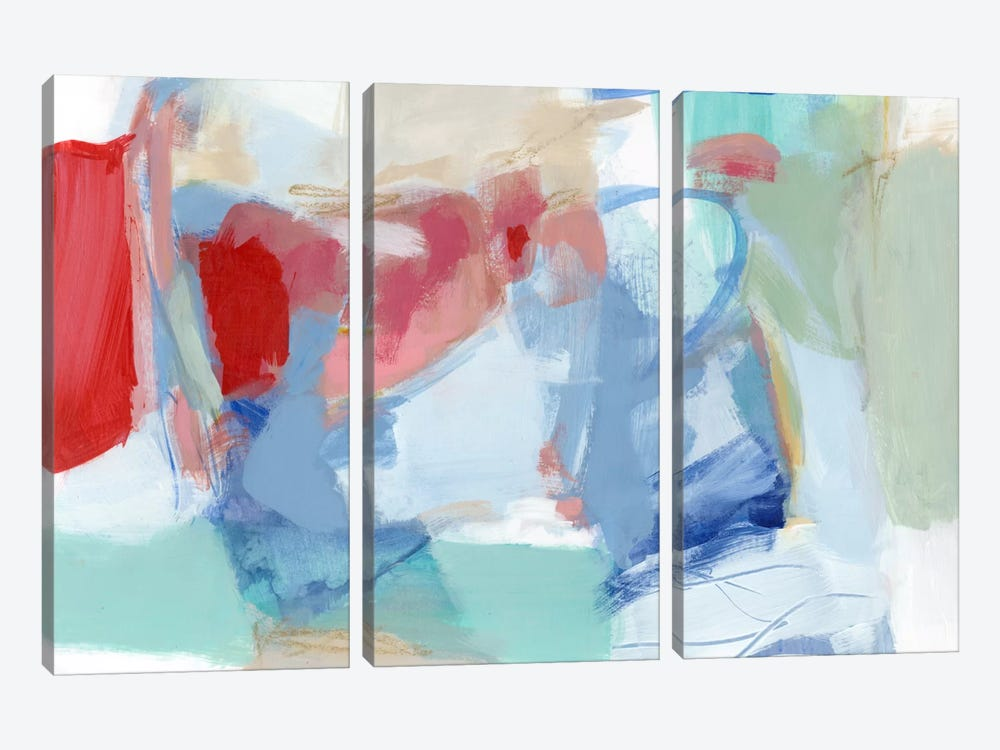Roundabout I by Christina Long 3-piece Canvas Art Print