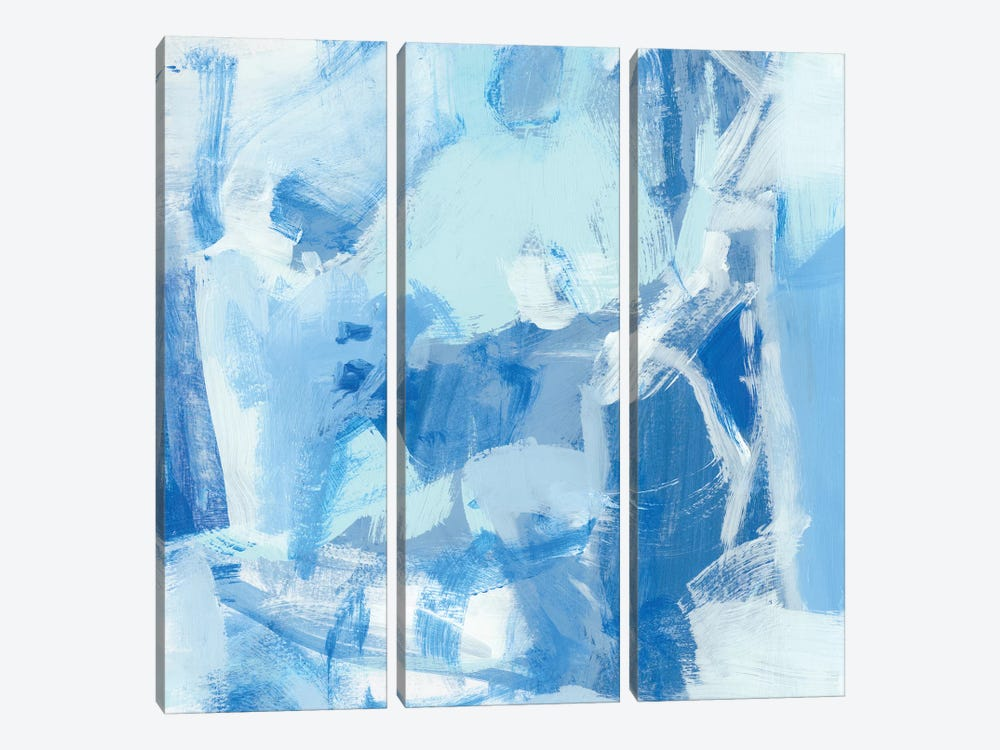Blue Light I by Christina Long 3-piece Art Print