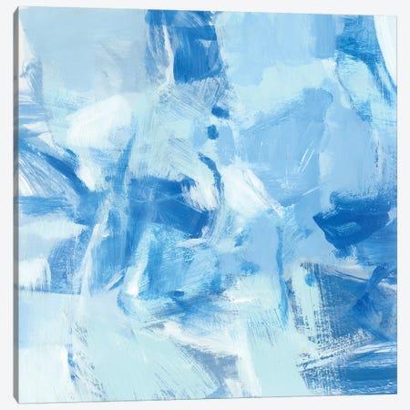 Blue Light II 3-Piece Canvas #CLO19} by Christina Long Canvas Print