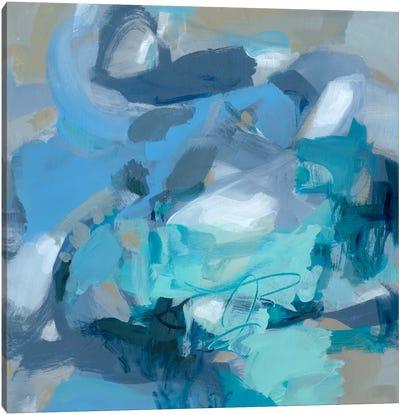 Abstract Blues I Canvas Art Print