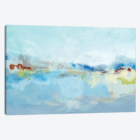 Sea Breeze Landscape I Canvas Print #CLO22} by Christina Long Canvas Artwork