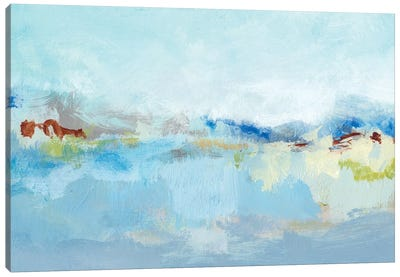 Sea Breeze Landscape I Canvas Art Print