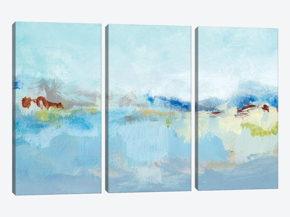 Sea Breeze Landscape I by Christina Long 3-piece Canvas Art