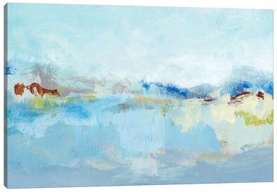 Sea Breeze Landscape I Canvas Art Print