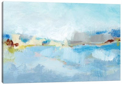 Sea Breeze Landscape II Canvas Art Print