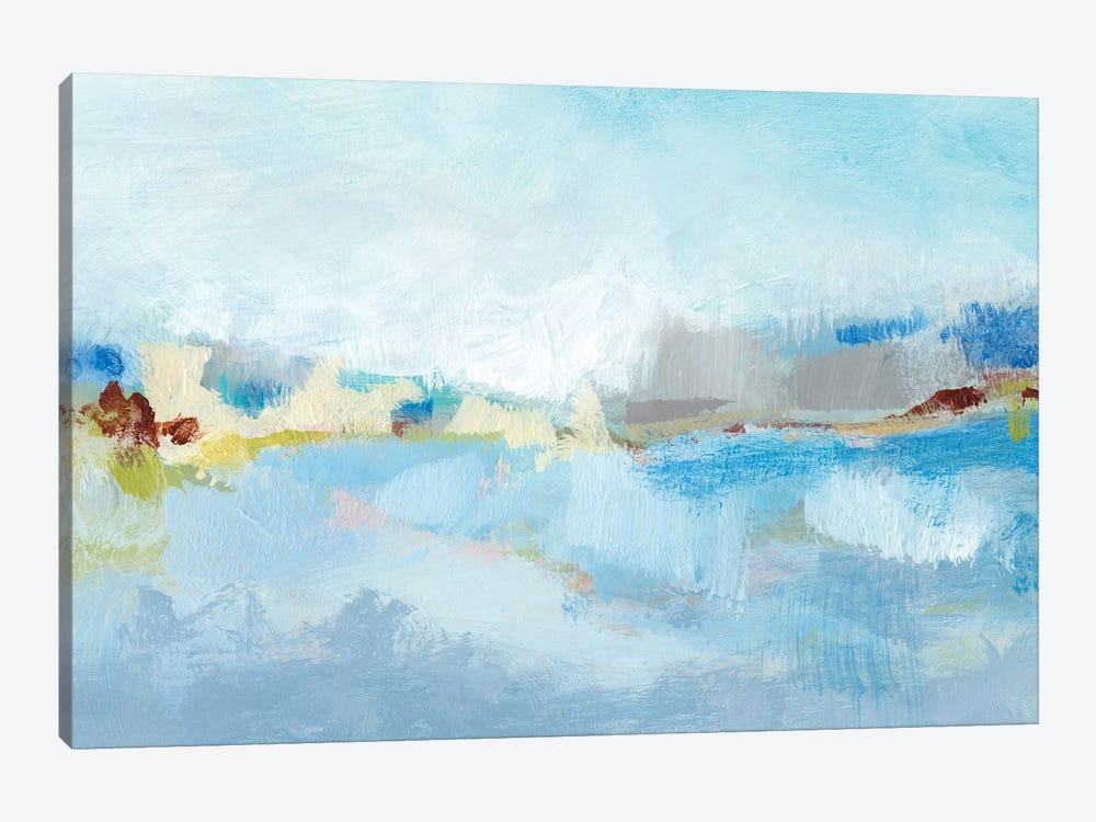 Sea Breeze Landscape II by Christina Long 1-piece Canvas Art Print
