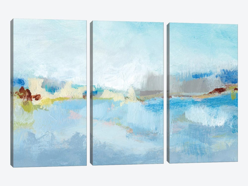 Sea Breeze Landscape II by Christina Long 3-piece Canvas Art Print