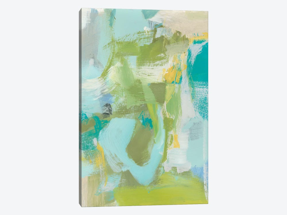 Sea Glass Abstraction I by Christina Long 1-piece Canvas Art