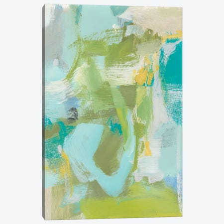 Sea Glass Abstraction I 3-Piece Canvas #CLO24} by Christina Long Canvas Art Print