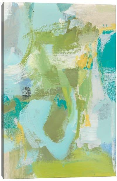 Sea Glass Abstraction I Canvas Art Print