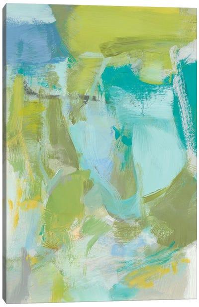 Sea Glass Abstraction II Canvas Art Print