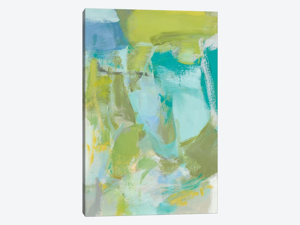 Sea Glass Abstraction II by Christina Long 1-piece Canvas Art Print