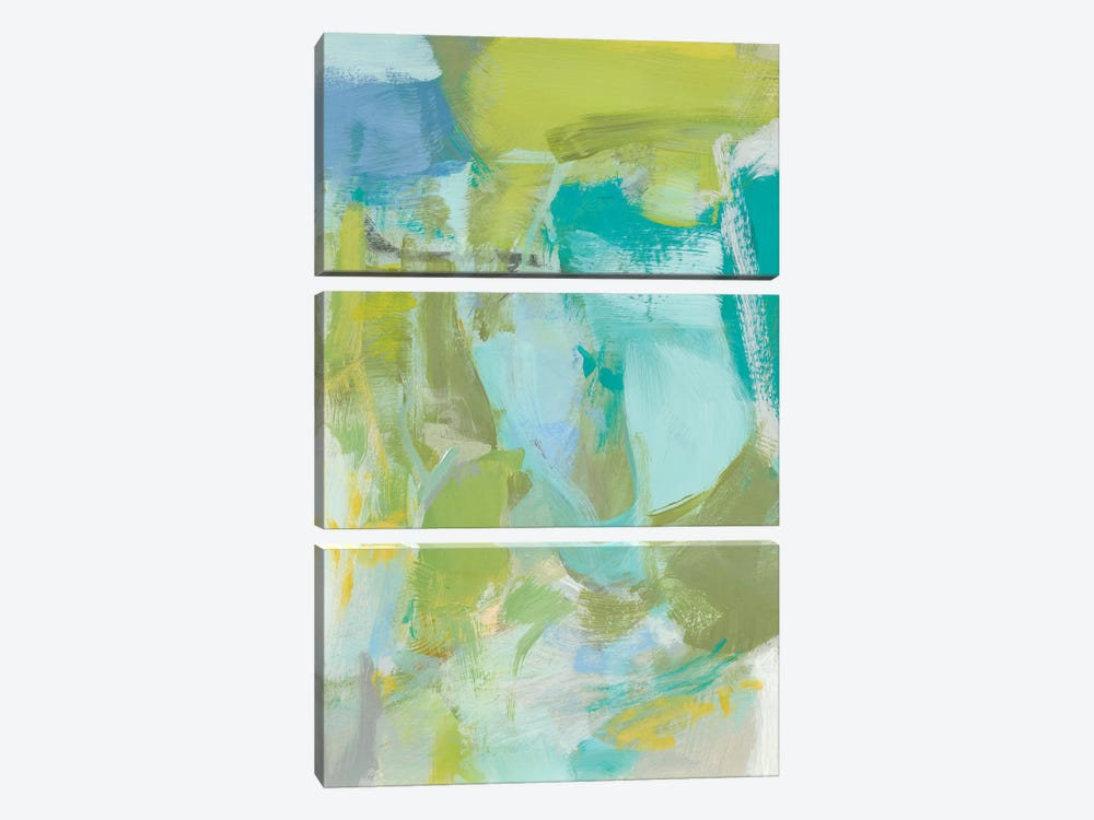 Sea Glass Abstraction II by Christina Long 3-piece Art Print