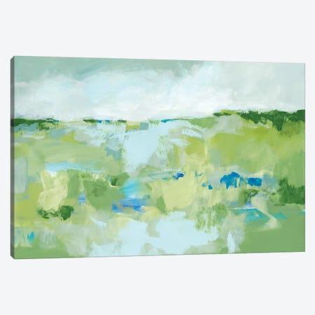 Spring Green I Canvas Print #CLO26} by Christina Long Art Print