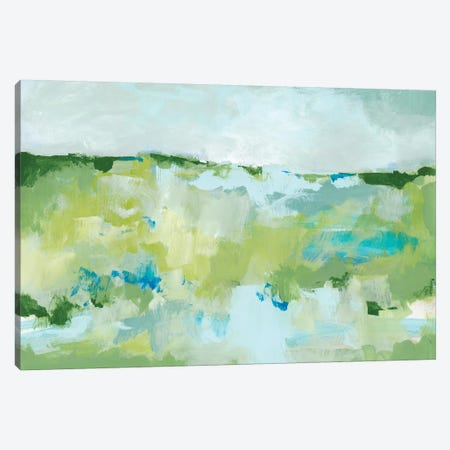 Spring Green II Canvas Print #CLO27} by Christina Long Art Print