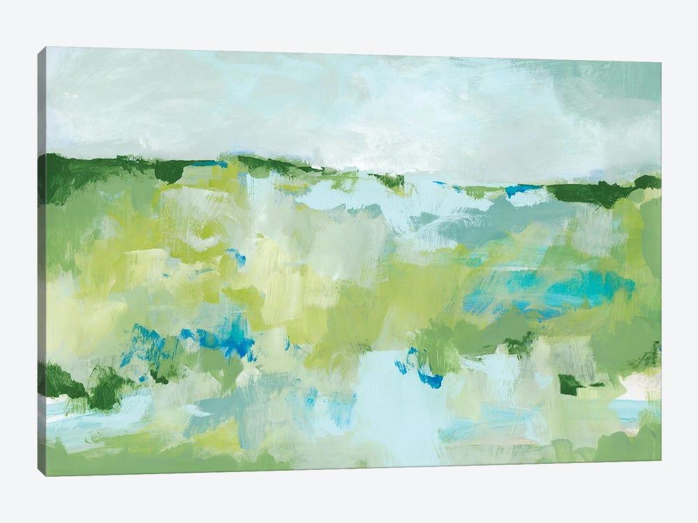 Spring Green II by Christina Long 1-piece Canvas Art Print